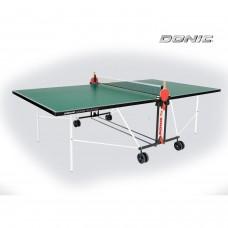 Теннисный стол DonicIndoor Roller FUN зеленый — Неонспорт