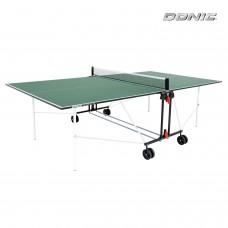 Теннисный стол Donic Indoor Roller SUN зеленый — Неонспорт