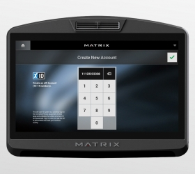 Matrix U7XI (U7XI-04) Велоэргометр (ЧЕРНЫЙ)